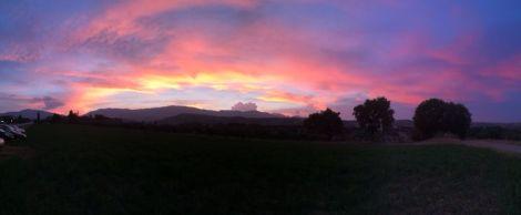 tramonto a Cugnoli